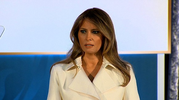In a rare statement on a policy issue, first lady Melania Trump weighed in through her spokeswoman on the immigration ...
