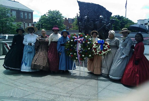 Female Re-Enactors of Distinction (FREED) established in 2005 in association with African American Civil War Museum.