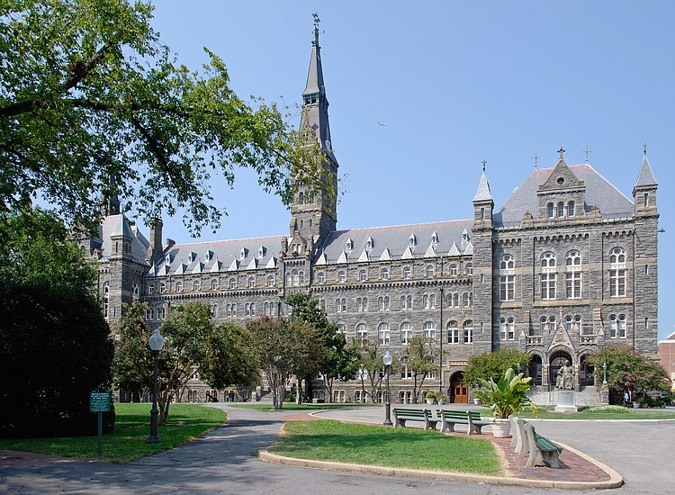 Georgetown University renames buildings to atone for slavery ties