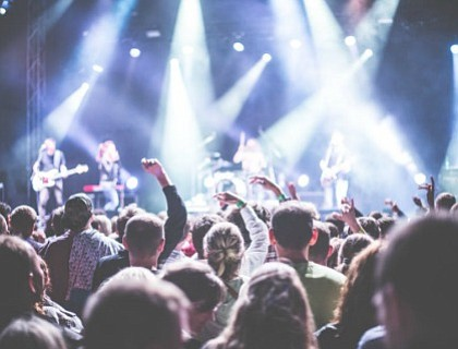 """Jazzy Summer Nights,"""" is a monthly mid-week concert series (June -September) that features national and regional artists, food, sponsor activations, ..."""