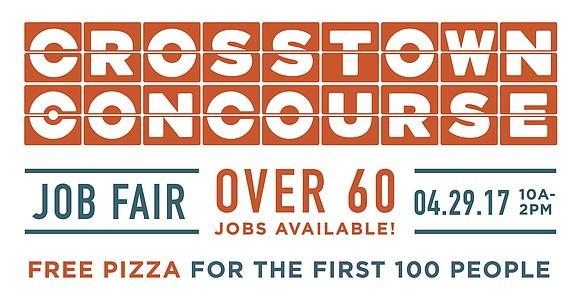 Concourse employers host job fair on April 29, 10 a.m. - 2 p.m.