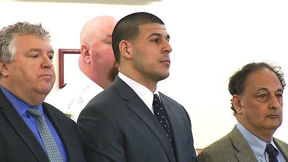 Convicted murderer and former NFL star Aaron Hernandez was found hanged in his Massachusetts prison cell Wednesday morning, officials said, ...