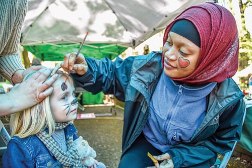 Face painting fun is just one of the activities to draw kids and families to Portland's Arbor Day Festival. The annual Portland Parks and Recreation event returns this year on Earth Day, Saturday, April 22, at Mt. Scott Park, located at 72nd and Harold in southeast Portland.