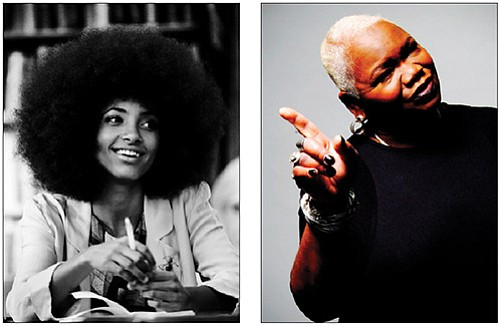 Left, Esperanza Spalding. Right, Ysaye Barnwell