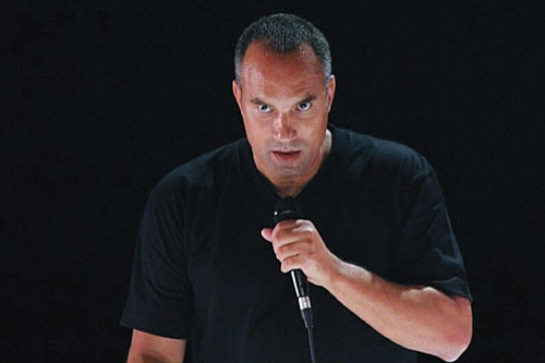 "Acclaimed actor and performance artist Roger Guenveur Smith in his staged production of ""Rodney King"" coming this weekend to Artists Repertory Theatre, downtown."