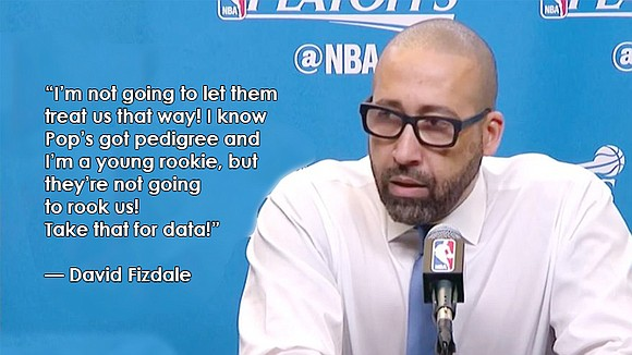 Fizdale feeds fan fire with feisty rant ahead of Games 3 & 4.