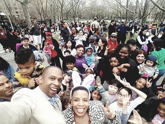 New York City Council Member Laurie A. Cumbo, a member of the Council Committee on Youth Services, held a community ...