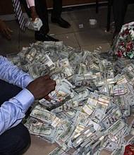 Money found in anti-gaft swat team raid