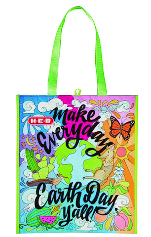 H E B Celebrates Earth Day With New Eco Friendly Reusable
