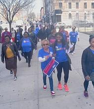 GirlTrek in Harlem