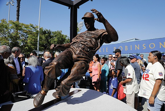 Jackie Robinson is known for heroically breaking baseball's color barrier on April 15, 1947, as a 28-year-old rookie with the ...