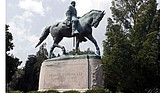 Lee statue in Charlottesville.