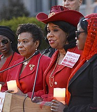 Congresswoman Frederica S. Wilson (D-Fla.) says that the terrorist group Boko Hiram may be down, but it is far from out.