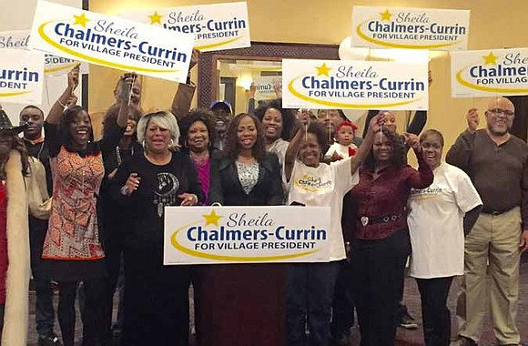 Sheila Chalmers-Currin has been elected as the first female African American Village President in Matteson, Illinois. Chalmers-Currin filed for the ...
