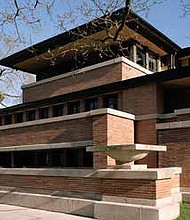 Frederick C. Robie House, (Frank Lloyd Wright, 1908-10), Chicago. Photo credit: Courtesy of Frank Lloyd Wright Trust. Photographer: Tim Long