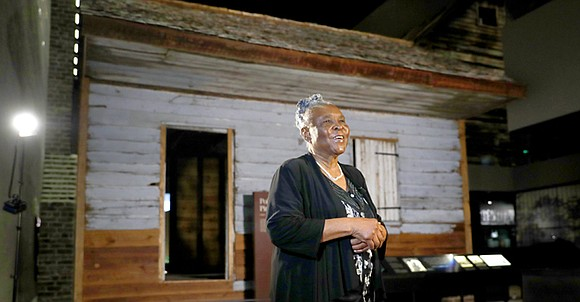 It's been years since Isabell Meggett Lucas has been inside the tiny house she was born in, a former slave ...