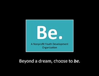 The Be Org (Be.) is a 501(c)3 nonprofit youth development organization dedicated to serving the Baltimore-Washington metropolitan area. The organization's ...