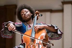 14 year-old cellist Ifetayo Ali-Landing (photo via blavity.com)