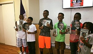 Sidney Keys III noticed there were no books about African-American culture at his school.