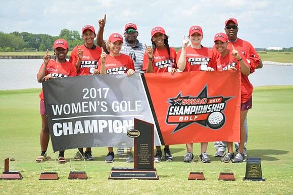Southwestern Athletic Conference women's golf champion, Texas Southern and individual medalist Chanelle Avaricio of Alabama State will find out where ...