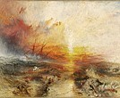 """The Slave Ship (Slavers Throwing Overboard the Dead and Dying, Typhoon Coming On)"" by J.M.W. Turner"
