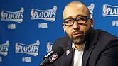 Grizzlies Head Coach David Fizdale talks about how his team stuck together to win in Games 3 and 4 at FedExForum. (Photo: Karanja A. Ajanaku)