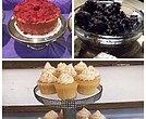 (Top) Nana's Homemade Pound Cakes, Spread-mmms (bottom) NYC Best Dressed Cupcakes