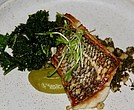 Black bass entree from Clay