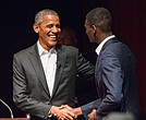 Barack Obama at University of Chicago