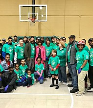 Comcast Cares Day Volunteers Spruce Up Park and Rec Center