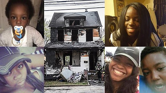 """Please take care of your kids,"" said grieving mother Dajuana Green. Family members, firefighters and residents were left devastated Sunday ..."