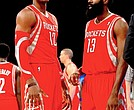 Dwight Howard and James Harden
