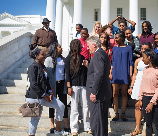 Executive congratulations //