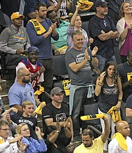 There were plenty of moments that gave Memphis fans hope that the Grizzlies could deliver a win in Game 6. (Photo: Warren Roseborough)