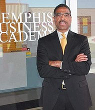 Pastor Anthony Anderson, CEO of the Memphis Business Academy