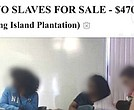 "A high school student in Florida has been suspended after taking a photo of two female classmates without their knowledge and posting it as an ad on Craigslist with the title: ""two slaves for sale."""