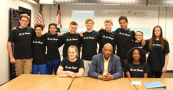 A group of eighth-grade students wants the Wake County school board to name a future school after a local African ...