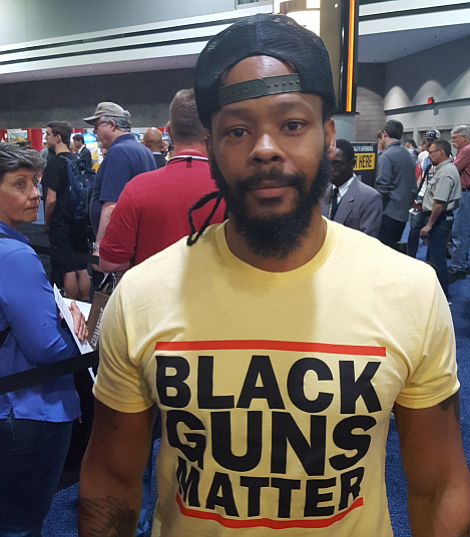 'I'm not in the business of trying to convince someone else that my life matters. I'mma reach out to whomever and talk to people. If you're from an urban area and wanna learn, let's get it done.' — Maj Toure, Founder Black Guns Matter
