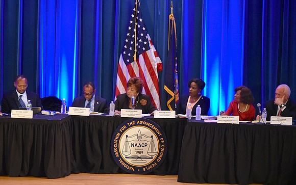The NAACP's Task Force on Quality Education held a hearing in New York, Thursday, April 27, at Harlem Hospital Center ...