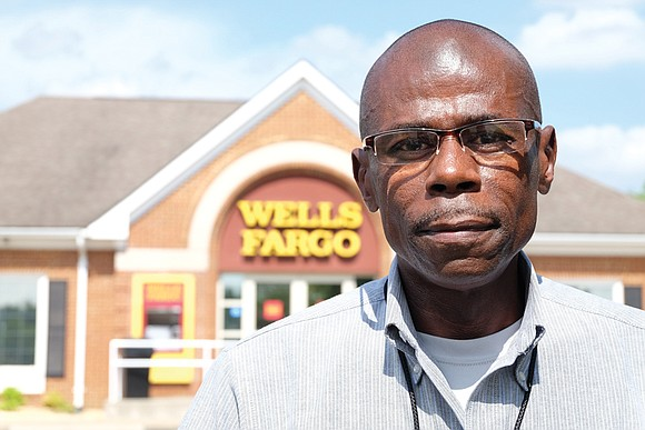 Every two weeks like clockwork, Jeffrey Perry has deposited his paycheck at the Wells Fargo bank branch in Mechanicsville located ...