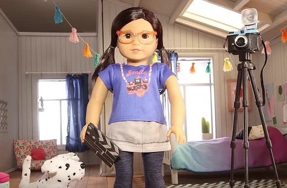 """American Girl fans can now take filmmaker Suzie """"Z"""" Yang, the manufacturer's first Korean-American doll, home to create their own ..."""