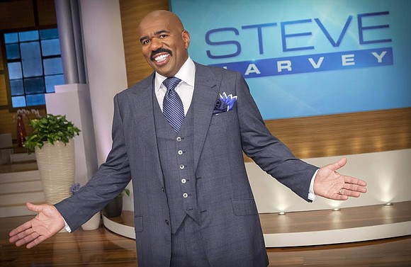 Steve Harvey was a no-show at the Daytime Emmy Awards, but he was a double winner. The comedian took home ...