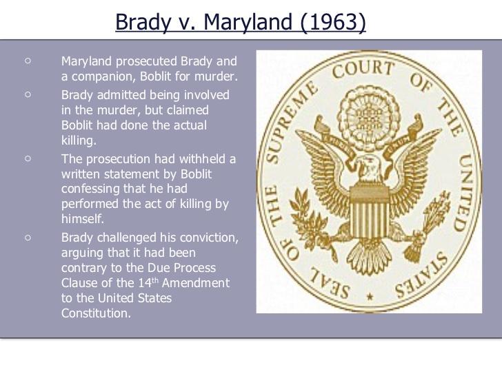 Brady Rule Definition: