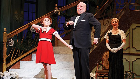 "At the age of 45, Taggett was cast as Oliver Warbucks in the national touring production of the musical ""Annie,"" ..."