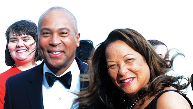 Former Gov. Deval Patrick and wife Diane Patrick