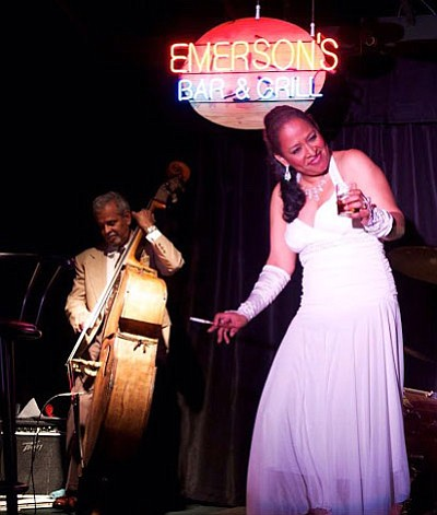 Multitalented New Orleans chanteuse and all-around entertainer, Sharon Martin, will once again take on the iconic role of Billie Holiday ...