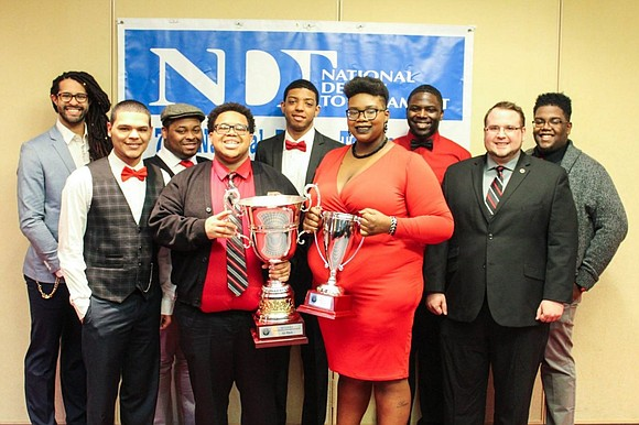 Two members of the Rutgers University-Newark debate team were recently honored at Newark City Hall after they became the first ...