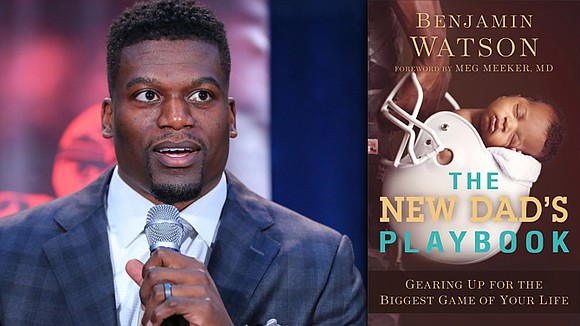 Baltimore Ravens tight end Benjamin Watson is lending a helping hand to both veteran and rookie fathers in his latest ...