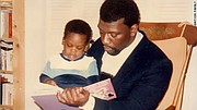 Benjamin Watson spent quality time with his father, Ken.