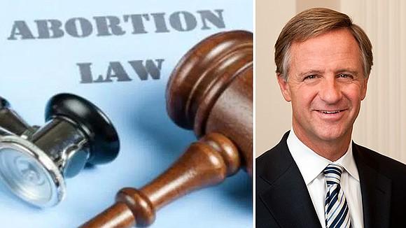 The new legislation bans abortions beyond fetal viability.